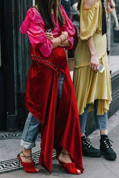 Street style London Fashion Week 2017 February
