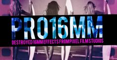 PRO16MM™ PROFESSIONAL VINTAGE CAMERA PLUGIN FOR FCPX  Create the hip or retro film that you always wanted to with PRO16MM™ by Pixel Film Studios™. This collection of 40 professionally made old film effects for Final Cut Pro X allows you to add moving textures and color burns to your film to give it that aggressive or vintage look.