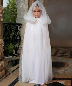 Ghostly Gal Dress - Girls | zulily