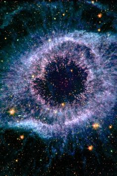 "Beautiful Nebula out there somewhere, the web page did not have searchable knowledge of this photo. *** I searched the world over and found that this is ""Helix Nebula, aka ""God's Eye"""