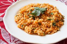 Arroz Rojo is a simple side dish that is the perfect accompaniment to Mexican and Mexican style meals. Rice was introduced to Mexico via Philippines in the 1500s and has since become fully incorpor...