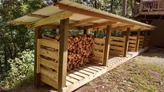 Perfect Wood Shed Roof Gallery Wood Shed Roof - This Perfect Wood Shed Roof Gallery images was upload on April, 17 2018 by Jamarcus Weimann. Here latest Wood Shed Roof images collec. Outdoor Firewood Rack, Firewood Shed, Firewood Storage, Wood Storage Sheds, Shed Roof, Backyard Sheds, Lean To, Shed Design, Wood Cutting