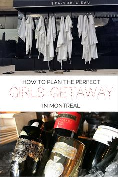 Tips for planning the perfect girls getaway in Montreal, Canada, including the spa, a champagne bar, paddleboarding and sightseeing!