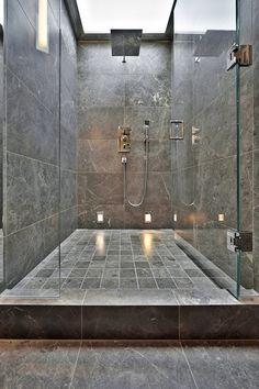Grey Marble Bathroom irish green connemara marble. ༺❀   ireland, irish, and my