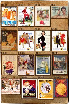 Publicidades Antiguas En Láminas - $ 25,00 en MercadoLibre