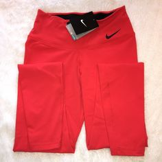 Nike Legendary Tight **NEW WITH TAGS**                                                   Women's Nike Legendary Tight                                          RED. Size XS.                                                             Perfect condition! Nike Pants