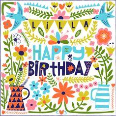 Happy Birthday by Carolyn Gavin Find me on Instagram at carolynj