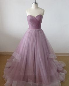 Real Pictures Coral Sweetheart Prom Dress, Long Train Quinceanera Dress with Horsehair Edge, Gothic Wedding Dress  ☛Pls visit our store for more