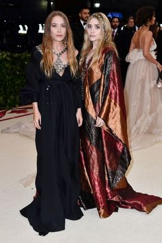 What The Olsen Twins Wore To The 2018 Met Gala