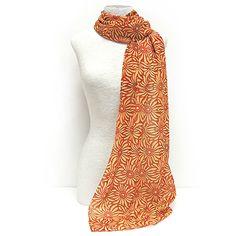 foulard rambla del prat foulard en modal inspirado en la fachada modernista del