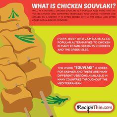 What Is Greek Chicken Souvlaki
