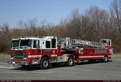 SeagraveMarauder IIAerialBaltimore City Fire Department Emergency Apparatus Fire Truck Photo