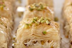 Coconut and Pistachio Baklava / Lucy Schaeffer copyright © 2009