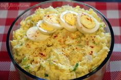 Yummm! My favorite classic American potato salad recipe to make for BBQ's, potlucks and summer parties! Ingredients: 3 large russet potatoes or 4 large yukon gold potatoes; peeled and diced 1 celery stalk; cut into thirds lengthwise and then sliced 2 green onions, chopped 4 eggs; hard boiled and diced ¾ cups of mayo ½ …