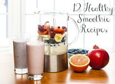 12 Healthy Smoothie Recipes to Start the New Year Right #ad