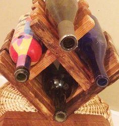 Botellero botelleros de madera mesa Botellero Botellero