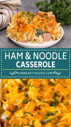 Pork Recipes, Pasta Recipes, Chicken Recipes, Cooking Recipes, Diced Ham Recipes, Keto Recipes, Leftover Ham Casserole, Leftover Ham Recipes, Recipes