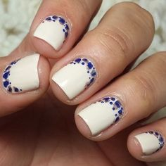 Even if you only have a short nails, you still need to style them. Actually, short nails are easier to maintain. So, if you are interested in nail art, check out these 10 trendy nail art designs for short nails below to beautify your short nails. Neutral Nail Designs, Ombre Nail Designs, Diy Nail Designs, Beautiful Nail Polish, Beautiful Nail Designs, Reverse French Manicure, French Manicures, Cute Nails, My Nails