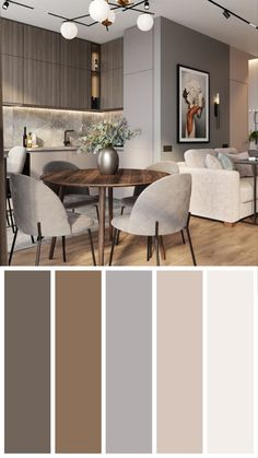 Modern Kitchen Interiors, Luxury Kitchen Design, Kitchen Room Design, Home Room Design, Dining Room Design, Home Decor Kitchen, Interior Design Kitchen, Small Apartment Interior, Apartment Design