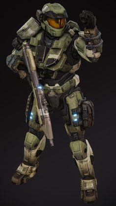 Halo Spartan Armor, Halo Armor, Halo 3 Odst, Halo 2, Halo Drawings, Halo Game, Halo Reach, Sci Fi Armor, Future Soldier