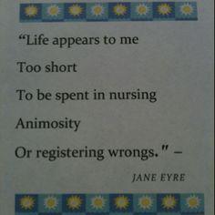 Jane Eyre quote, Charlotte Bronte