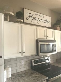 Home Interior Boho Happiness is Homemade / Wood Sign / Kitchen Sign / Homemade /.Home Interior Boho Happiness is Homemade / Wood Sign / Kitchen Sign / Homemade / Above Kitchen Cabinets, Kitchen Signs, Home Kitchens, Kitchen Remodel, Kitchen Design, Kitchen Decor, New Kitchen Cabinets, Kitchen Cabinets Decor, Homemade Wood Signs