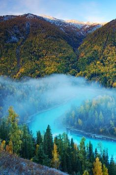 ( The moon bay ) kanas nature reserve northern xinjiang province /china by jacky CW