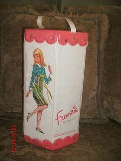 1965 Francie Doll Mod 6 Sided Case Trunk Wardrobe Barbie's Mod'Ern Cousin   eBay