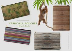 CARRY-ALL POUCHES BY ARTEMIO STUDIO