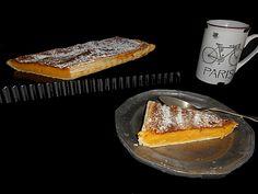 Coisas simples são a receita ...: Tarte de feijão branco e laranja