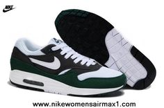 huge discount 2bf1a 328ab Cheap Mens Nike Air Max 1 White Grey Green Shoes For Sale --- Nike shoes  price!