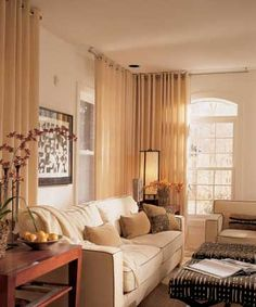 Love The Corner Window Treatments. I Have Corner Windows In My Home And Am  Exploring