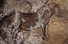 Horse from the Niaux Cave, France