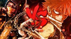 Natsu VS. Scorpion | Duelo de Titãs