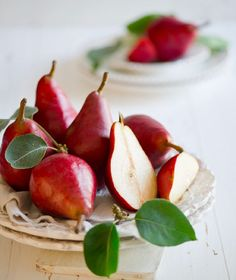 beautiful pears - eat | raw foods
