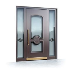 Interior and exterior doors by MilanoDoors, contemporary italian doors, modern wood doors. Modern Wood Doors, Modern Exterior Doors, Modern Entrance, Contemporary Doors, House Paint Exterior, Interior And Exterior, Interior Design, Glass Screen Door, Italian Doors