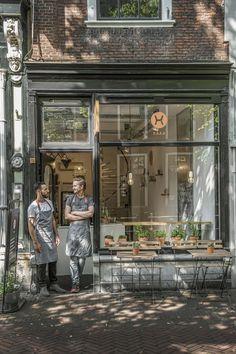 HAKA saladbar in Delft, the Netherlands