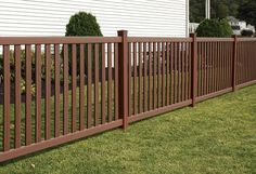 Bufftech Baron Select Cedar Vinyl Fence Sections Cattle Panel Fence, Vinyl Fence Panels, Privacy Fence Panels, Front Garden Entrance, Front Yard Fence, Fenced In Yard, Backyard Fences, Backyard Landscaping, Vinyl Gates