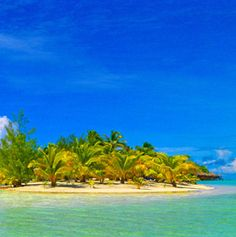 Aitutaki Lagoon Resort in the Cook Islands.