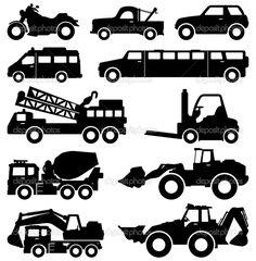 Resultado de imagen de tipos de vehículos de transporte montacargas