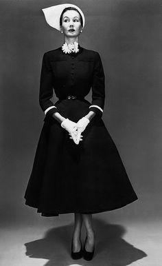 Barbara Goalen, photo by John French, 1950s.