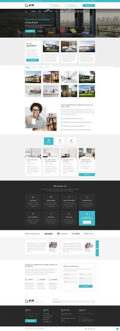 HnK is a stellar choice if you're on a quest for an architecture, interior and decoration design WordPress theme with fresh and modern look. Web Design, Layout Design, Credit Repair Services, Portfolio Covers, Art Deco Bedroom, Architecture Portfolio, Best Wordpress Themes, Interiores Design, Design Projects