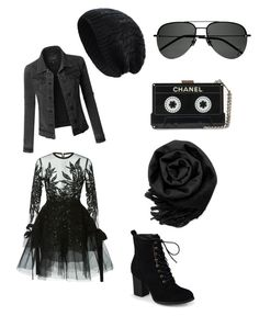 """""""Grey's closet"""" by boobooduncan on Polyvore featuring CO, Journee Collection, LE3NO, Yves Saint Laurent and Gearonic"""