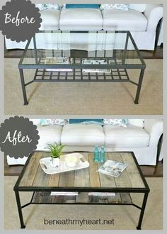 Do this to the outdoor iron wicker topped table