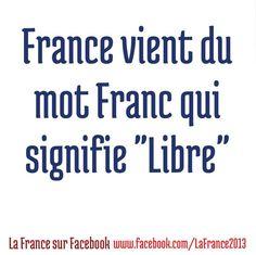 origine du mot france