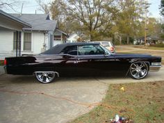 More Vintage Cars, Hot Rods, and Kustoms Cadillac Cts V, Cadillac Eldorado, Cadillac Escalade, Vintage Cars, Antique Cars, Old School Muscle Cars, Donk Cars, Cadillac Fleetwood, Old Classic Cars