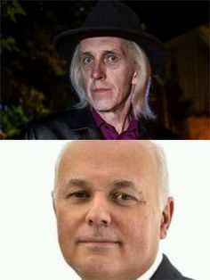 One has the Initials IDS and is the personification of the grim reaper, the other has the initials IDS and is a new character in Still Game. Still Game, Be Still, The Grim, Grim Reaper, Che Guevara, Initials, Politics, Games, Character