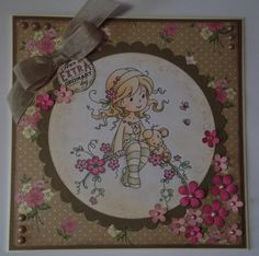 Another oldie card I made with Wee Sweet Blossom