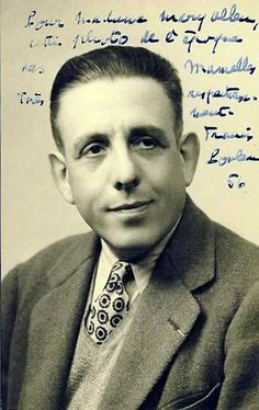 My man, Francis Poulenc.  How did a good German girl like me fall so hard for this French composer's music?