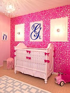 Wallpaper has made a huge comeback -- metallics, great children's prints and even removable wallpaper.    See more nursery trends in our gallery: http://www.people.com/people/celebritybabies/gallery/0,,20620053,00.html#